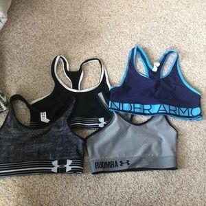 UA sports bra bundle